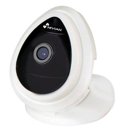Nivian ONV510 - Caméra IP Wifi 720p, IR Portée 5 m, Installation…