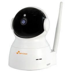 Nivian ONV536 - Caméra IP H.264 1080p PT, 4 LEDs IR Portée 7 m,…