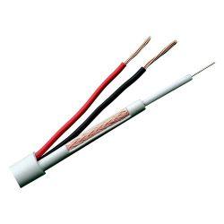 RG59UP-300 - Cable Combinado, Micro RG59 + alimentación, Rollo de…