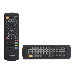 Mygica KR303 Mando Wireless Flymouse Qwerty Mouse 2.4Ghz con bateria