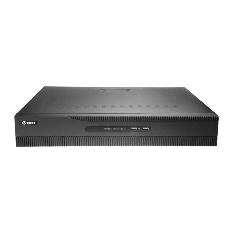 Safire SF-NVR6432-4K16P - Enregistreur NVR pour caméra IP, 32 CH vidéo / 16…