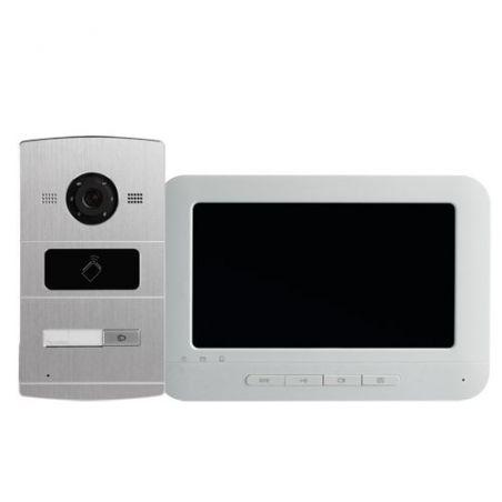 Safire SF-VI301-IP - Kit de Videoportero, Tecnología IP, Incluye Placa y…