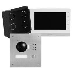 X-Security VTK-F2000-2 - Kit de Videoporteiro, Tecnologia 2 fios, Inclui Placa,…