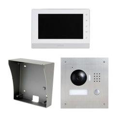 X-Security VTK-S2000-IP - Kit de Portier vidéo, Technologie IP, Inclut Plaque,…