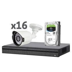 X-Security XS-KIT01 - X-Security, Pre-configured CCTV Kit, 1 x XVR4216AN 16…
