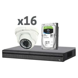 X-Security XS-KIT02 - X-Security, Pre-configured CCTV Kit, 1 x XVR4216AN 16…