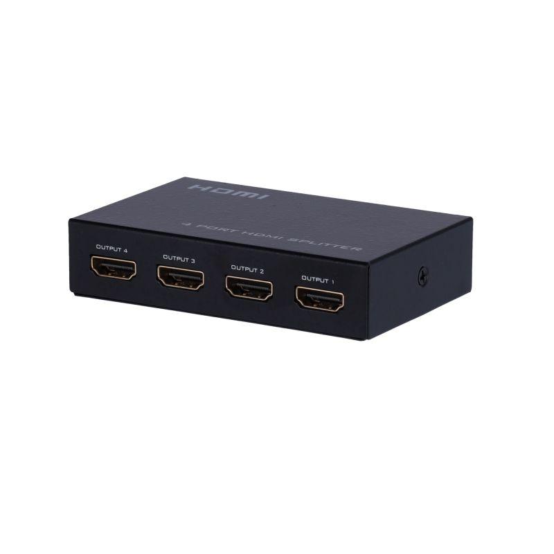 HDMI-SPLITTER-4-4K - Multiplicateur de signal HDMI, 1 entrée HDMI, 4…