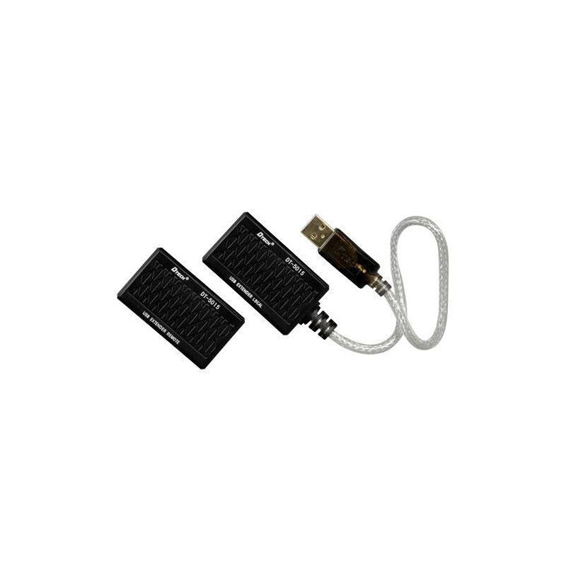 USB-EXT-1 - Extensor USB LAN, 1 entrada USB, 1 saída RJ45,…