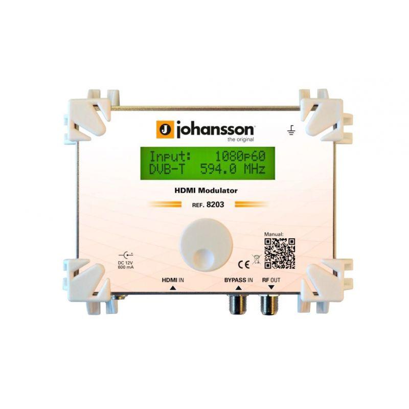 Johansson 8203 Modulador HDMI a DVB-T