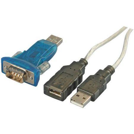 Adaptateur USB 2.0 à RS-232 avec rallonge de 0,6m