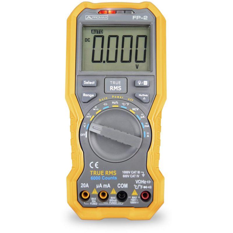 Promax FP-2 True RMS digital multimeter