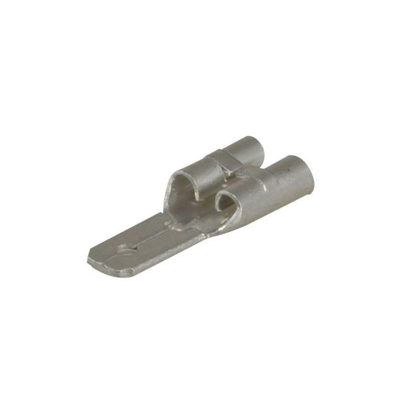 FT-F1 - Adaptador de fastón, Tipo F2 (6.35mm) a tipo F1…