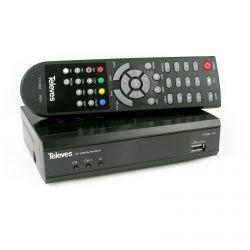 Récepteur satellite FTA numérique HD Compatible SCR I et SCR II, Televes