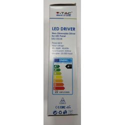 Led Driver Pilote non dimmable pour panneau led 22W 85-265V