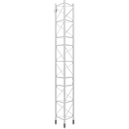 Section intermédiaire galvanisée à chaud, tour de 3m, 450XL, Blanc Televes