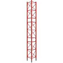 Intermediate Section reinforced Galvanized hot 3m Tower 450XL Red Televes