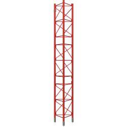 Tramo Intermedio Reforzado Galvanizado en caliente 3m Torre 450XL Rojo Televes
