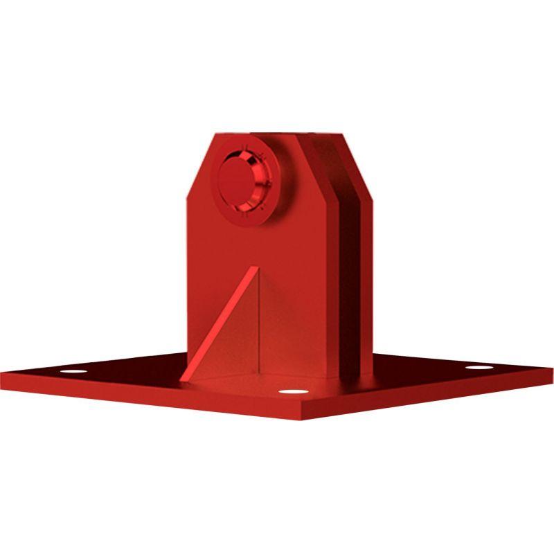Bascule Base Flush/Vis renforcé (avec plaque) Tour 450XL G.C. Rouge Televes