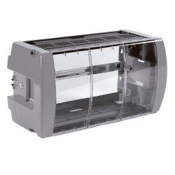 Cofre con Cerradura y Ventilación forzada 498mm para cabeceras T.0X Televes