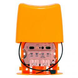 Amplificador Mastro NanoKom 3e/1s EasyF UHF[dc]-VHFmix-FImix[dc] 12 ... 24V LTE700 Televes