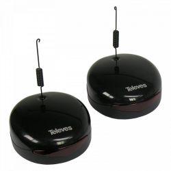 Kit Transmissor + Receptor Universal DigiDom IR 8 Canais Televes