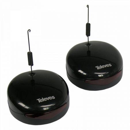 Kit Transmisor + Receptor Universal DigiDom IR 8 Canales Televes