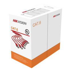 Hikvision DS-1LN6-UU - Hikvision UTP Cable, Category 6, Bobbin of 305 meters,…