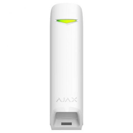 Ajax AJ-CURTAINPROTECT-W - Detector PIR tipo cortina Ajax, Inalámbrico 868 MHz…