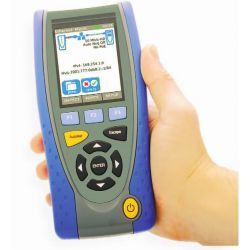 Promax IC-075D Qualificador de cabos e redes de cobre e fibra ótica