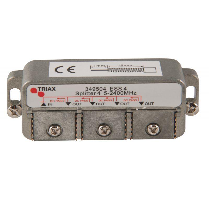 Distribuidor 4 salidas (Conexión clema fácil) ESS 4