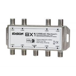 Commutateur Edison DiSEqC 8/1