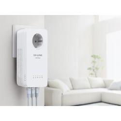 TP-Link WPA8630P Kit 2x CPL AV1300 + WiFi AC1350 avec 3 ports Ethernet Gigabit et prise gigogne