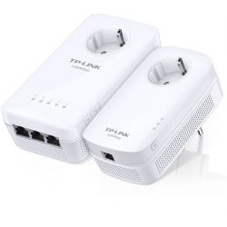 TP-Link WPA8630P KIT Powerline Wi-Fi AC Gigabit AV1300 con enchufe incorporado