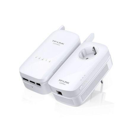 TP-Link TL-WPA8730 Kit CPL AV1200 Gigabit + Wi-Fi AC1750