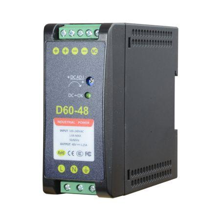 DC48V1A-DIN - Source d\'alimentation commuée, Sortie DC 48 V 1.25 A…