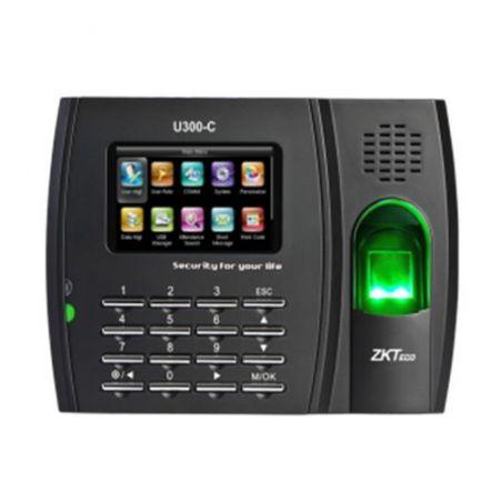 Zkteco ZK-U300C - Control de Presencia, Huellas, Tarjeta EM RFID y…