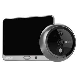 Ezviz EZ-CS-DP1-A0-4A1WPFBSR - Campainha / olho mágico para porta WiFi Ezviz, Longa…
