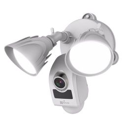 Ezviz EZ-CS-LC1-A0-1B2WPFRL - Ezviz WiFi Floodlight Camera, 2 Megapixel, 2 LED…