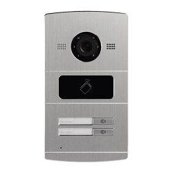 Safire SF-VI107E-IP - Portier vidéo IP pour 2 appartements, Caméra 1,3Mpx,…
