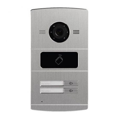 Safire SF-VI107E-IP - Videoportero IP para 2 apartamentos, Cámara 1,3Mpx,…