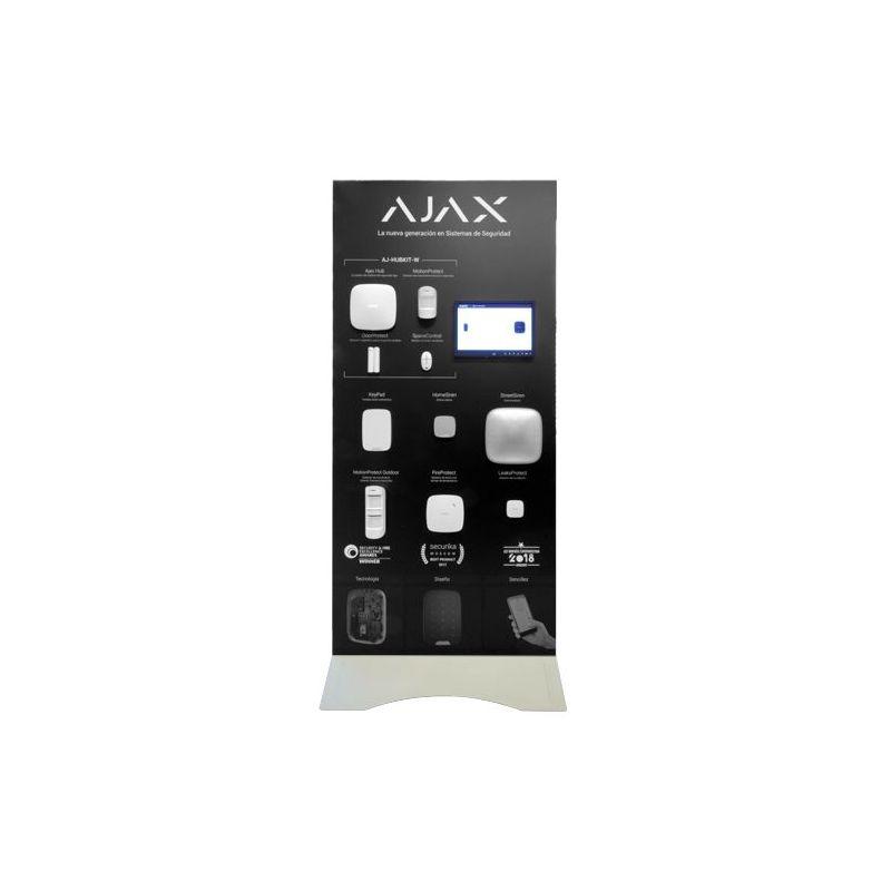 Ajax AJ-BTOTEM-W-ES - Expositor Demo de pie, Kit de alarma profesional Ajax,…