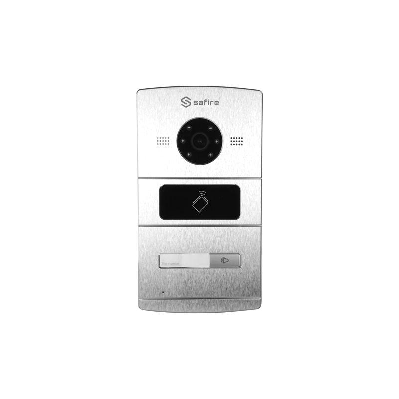 Safire SF-VI101E-IP - Videoportero IP, Cámara 1,3Mpx, Audio bidireccional,…