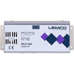 Lemco MLH-200 2 x HDMI a IP streaming
