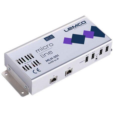 Lemco MLH-201 4 x HDMI a IP streaming