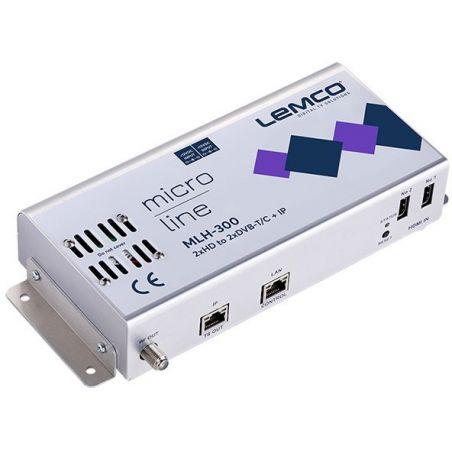Lemco MLH-300 2 x HDMI a 2 x DVB-T/C + IP streaming