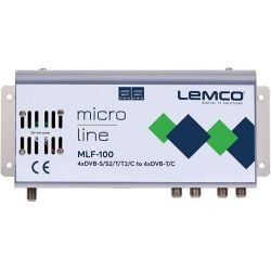 Lemco MLF-100 4 x DVB-S/S2/T/T2/C para 4 x DVB-T/C