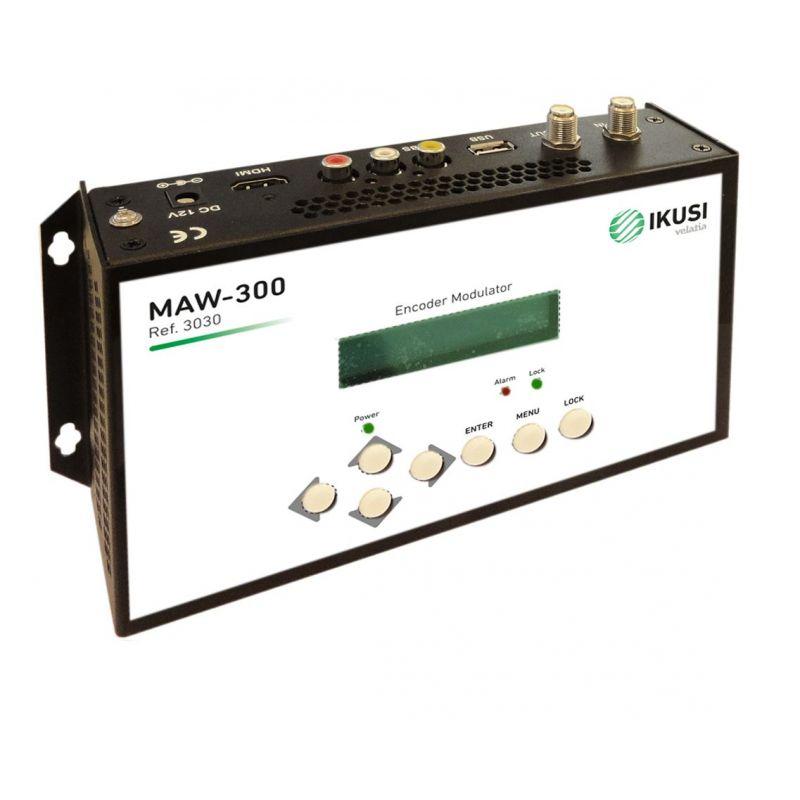Ikusi MAW-300 Modulateur DVB-T HD Entrée HDMI + CVBS