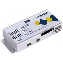 Lemco MLC-200 2 x DVB-S/S2/T/T2/C + 2 x FlexCAM para IP streaming