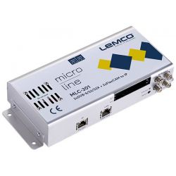 Lemco MLC-201 2 x DVB-S/S2/S2X + 2 x FlexCAM para IP streaming