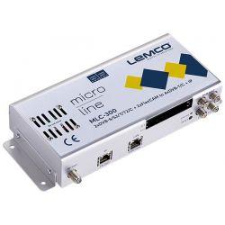 Lemco MLC-300 2 x DVB-S/S2/T/T2/C + 2 x FlexCAM à 4 x DVB-T/C + IP streaming